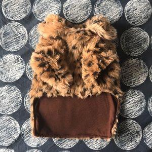 Jackets & Blazers - *DOG* Leopard faux fur dog coat
